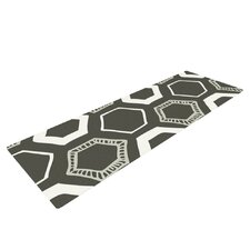 Hexy by Laurie Baars Geometric Yoga Mat