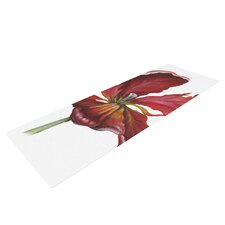 Open Tulip by Lydia Martin Yoga Mat
