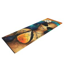 Let the Good Times Roll by Mandie Manzano Yoga Mat