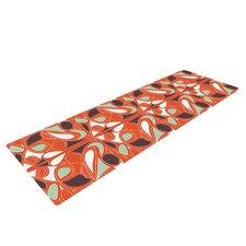 Orange Swirl Kiss by Miranda Mol Yoga Mat