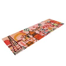 Happy Town by Marianna Tankelevich Yoga Mat