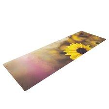 Magic Light by Libertad Leal Flower Yoga Mat