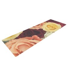 Vintage Roses by Libertad Leal Yoga Mat