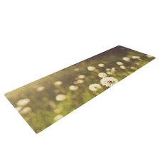 As You Wish by Libertad Leal Dandelions Yoga Mat