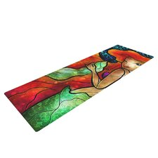 Ariel by Mandie Manzano Mermaid Yoga Mat