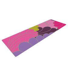 Moroccan Leaves by Nicole Ketchum Yoga Mat