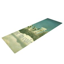 Never Stop Exploring by Monika Strigel Yoga Mat