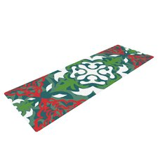 Lace Flakes by Miranda Mol Yoga Mat