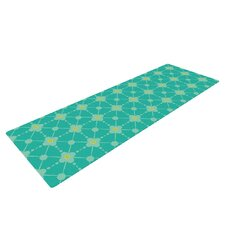 Hive Blooms by Nicole Ketchum Yoga Mat