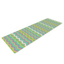 Chevron Love by Nicole Ketchum Yoga Mat