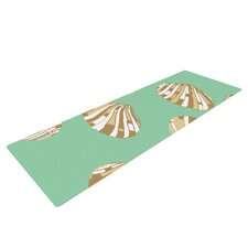 Scallop Shells by Rosie Brown Yoga Mat