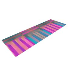 Tracking by Nina May Stripes Yoga Mat