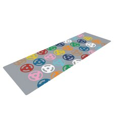 Roll with it on Grey by Project M Yoga Mat