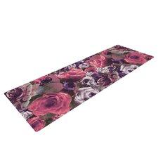 Rose Stripe by Nina May Yoga Mat