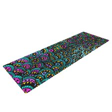 Peacock Tail by Pom Graphic Design Yoga Mat