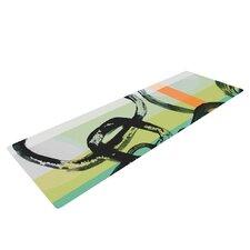 Sixties Stripe by Theresa Giolzetti Yoga Mat