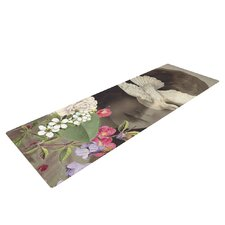 Doves Eyes by Suzanne Carter Yoga Mat