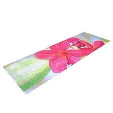 Plumeria by Sylvia Cook Flower Petals Yoga Mat