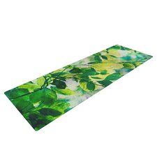 Leaves by Sylvia Cook Yoga Mat