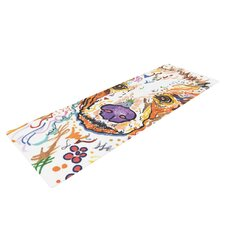 Lily by Rebecca Fischer Poodle Yoga Mat