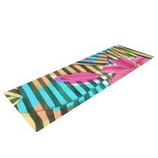 Lilly n Stripes by S. Seema Z Yoga Mat