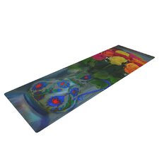 Spring Bouquet by S. Seema Z Flowers Yoga Mat