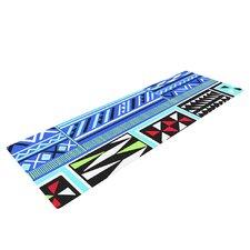 American Blanket Pattern by Vikki Salmela Yoga Mat
