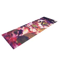 On Fire by Sylvia Cook Yoga Mat