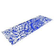 Bloom Blue for You by Vikki Salmela Yoga Mat