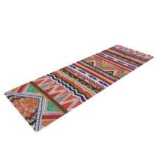 Native Tessellation by Vasare Nar Yoga Mat