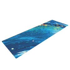 Big Wave by Theresa Giolzetti Yoga Mat
