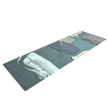 Whale Talk by Sophy Tuttle Yoga Mat