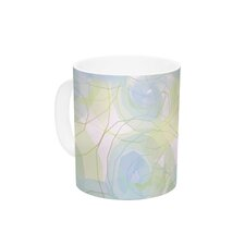 Paper Flower by Alison Coxon 11 oz. Ceramic Coffee Mug