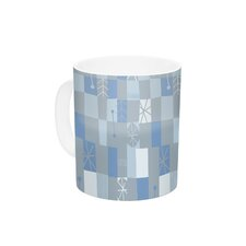 Nature Check Winter by Allison Beilke 11 oz. Ceramic Coffee Mug