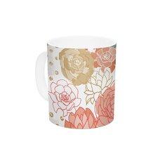 Spring Florals by Pellerina Design 11 oz. Blush Peony Ceramic Coffee Mug
