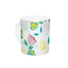 Indie Floral by Anneline Sophia 11 oz. Ceramic Coffee Mug