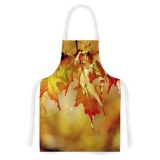 Autumn Leaves by Angie Turner Vibrant Artistic Apron