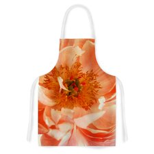 Blushing Peony by Pellerina Design Coral Artistic Apron