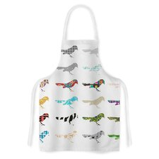 Birds by Belinda Gillies Artistic Apron