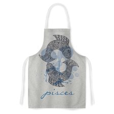 Pisces by Belinda Gillies Artistic Apron