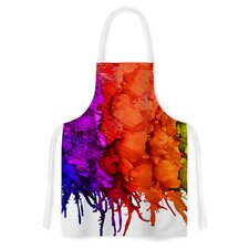 Rainbow Splatter by Claire Day Artistic Apron