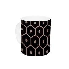 Tiled Mono by Budi Kwan 11 oz. Ceramic Coffee Mug