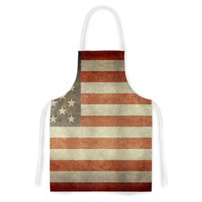 Flag of US Retro by Bruce Stanfield Artistic Apron