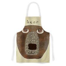 Bear by Bri Buckley Artistic Apron