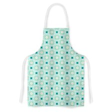 Tossing Pennies I by Catherine McDonald Artistic Apron