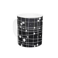 Woven Web Mono by Budi Kwan 11 oz. Ceramic Coffee Mug