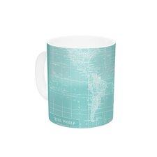 Welcome to my World by Catherine Holcombe 11 oz. Ceramic Coffee Mug