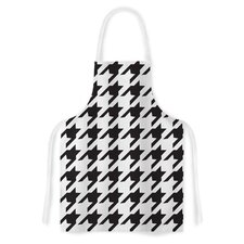 Spacey Houndstooth by Empire Ruhl Artistic Apron