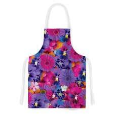 Find the Tiger by Akwaflorell Purple Artistic Apron