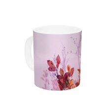 Autumn Symphony by Iris Lehnhardt 11 oz. Orange Ceramic Coffee Mug